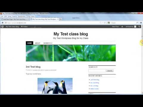 Create a free Blog or Website on Wordpress.com