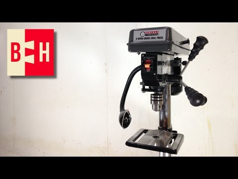 HF Drill Press Unboxing/First Impressions