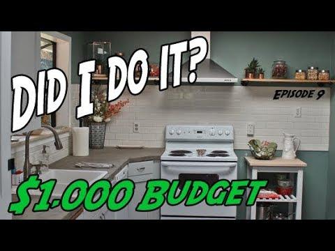DIY Kitchen Remodel   $1000 Budget Kitchen Remodel