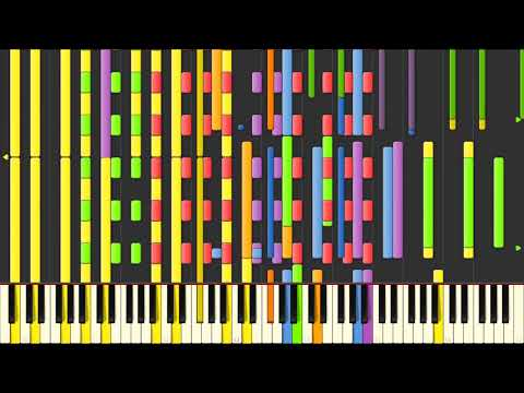 [Black MIDI] Synthesia – Primal Dialga's Fight to the Finish! 57,000 notes ~ Nick