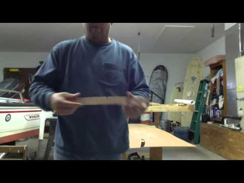 How to build a hollow wood surfboard