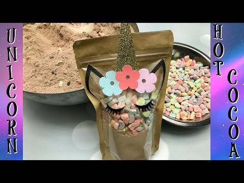 Unicorn Hot Cocoa | Cakes and Crafts by Kass