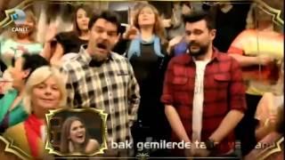 Download Beyaz'dan Demet Akalın'a 'Türkan' Klibi Cevabı - Beyaz Show 19 Aralık 2014 Video