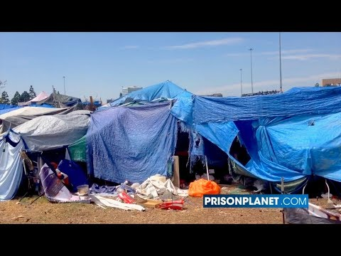 Democrat Policies Cause Homeless Crisis In California