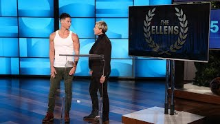 Ellen Hands Out Trophies at First-Ever Ellen Awards