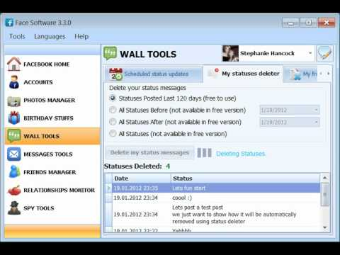 How to delete all wall posts on your facebook timeline!