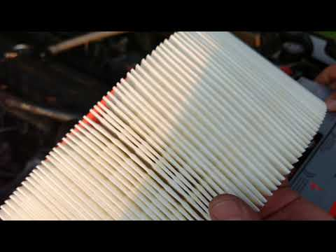 How to change the air filter 1991 Jeep Wrangler YJ