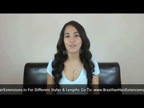 Human Hair Extensions - Virgin Brazilian Human Hair Review