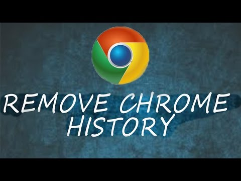 how to remove chrome browser history permanently