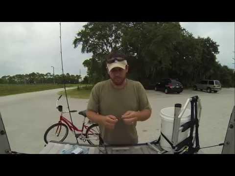 How to catch Flounder from a bridge.    (Fishing Fernandina Beach Florida)
