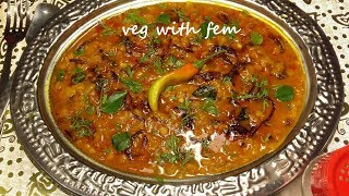 Masoor Ki Dal   Dhaba Style Masoor Dal Ki Recipe   Red Lenthils Recipe With English Subtitles