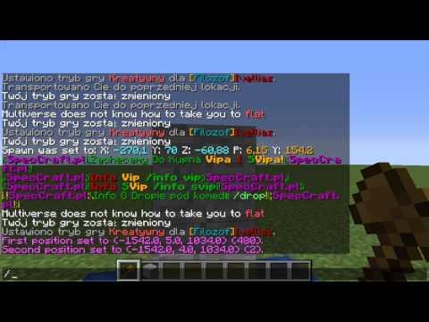 Minecraft Poradniki dla Administracji #1 - Multiverse portals