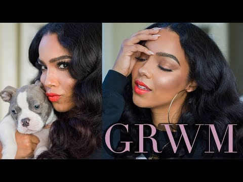 Chit Chat GRWM Using New Stuff and  How to Get Over Your Ex!