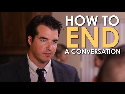 How to End a Conversation | The Art of Manliness