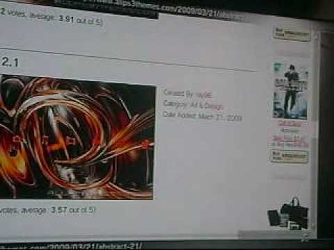 How to get the best ps3 themes FREE!!