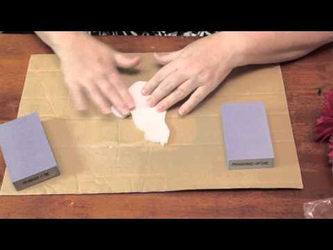 How Do You Sand Gesso? : Summer Crafts
