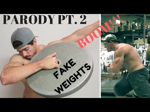 Dethroning BRAD CASTLEBERRY as FAKEST Bodybuilder on Social Media | FAKE WEIGHTS IN MY GYM!