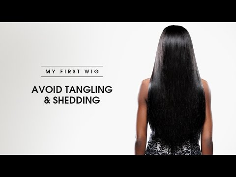 MYFIRSTWIG| How to avoid tangling and shedding #tutorialforbeginners