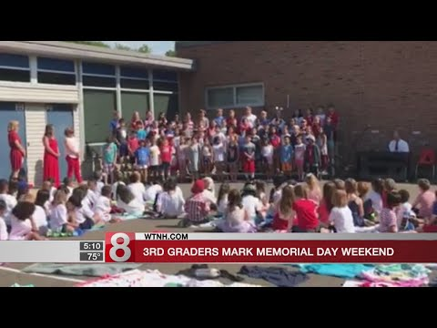 Fairfield's Holland Hill School 3rd Graders sing