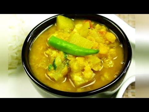 How To Make Lauki Chana Dal at Home | Homemade Lauki Chana Dal Recipe | Quick & Easy Dal Recipe