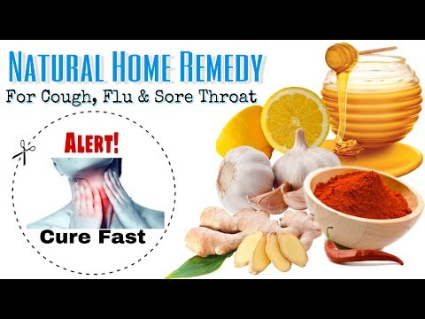 HOW TO CURE SORE THROAT FAST (Natural Home Remedy)