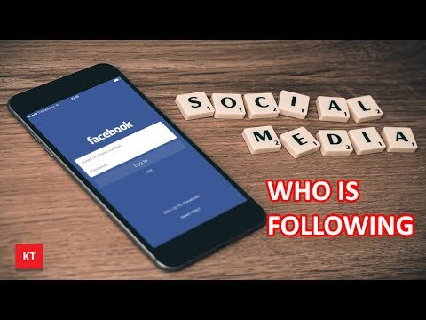 See who is following you or someone else on Facebook