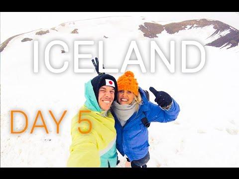 Iceland Vlog Day 5: Viti Crater | Vik to Húsavík Road Trip