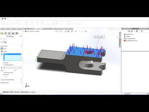 Sructural simulation in Solidworks (Fast method)