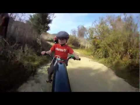 GoPro Mountain Biking with the family at Aliso Creek in Orange County, CA