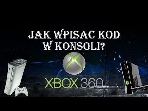 Jak Użyć Kodu / Wpisać Kod w Konsoli Xbox 360? Zobacz!