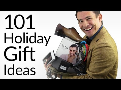 101 Gift Ideas for Men | 2016 Holiday Gift Guide | Best Gifts For Every Man