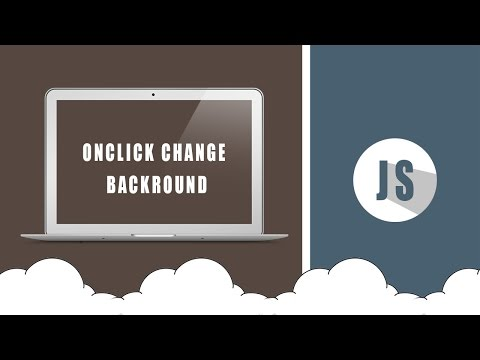 Javascript Onclick Change Backgound color