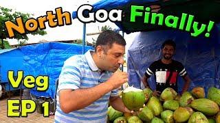 North  Goa Tour | Traditional Goan food + Pudding  EP 1