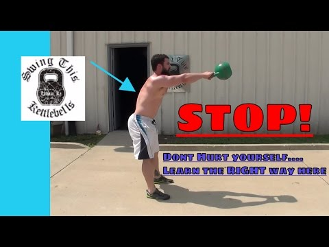 Basic KETTLEBELL SWING Safety : Tips to PREVENT INJURY