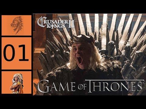 CK2 - Game of Thrones Mod - Robert's Rebellion #1 - Mad King Aerys