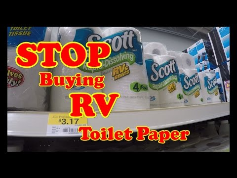No more buying RV Toilet Paper