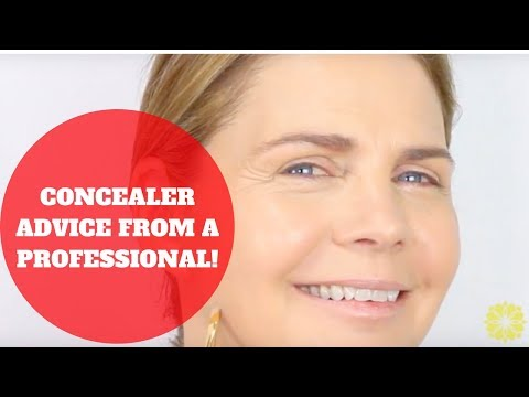 SIMPLE CONCEALER ADVICE for over 50! Mature Women