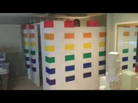 Building a temporary baby's room or wall using Everblocks UK