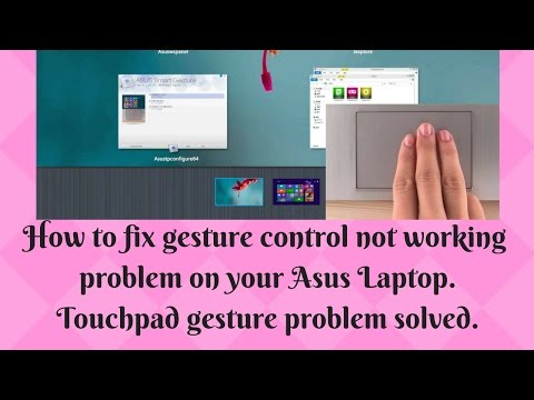 Enable two finger scrolling for Asus laptops#Asus smart gesture #Two finger scroll for Asus laptops