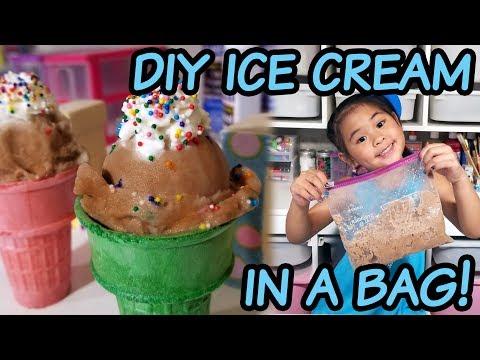 DIY Chocolate Ice Cream in a Bag | Quick & Easy Homemade Chocolate Ice Cream Recipe