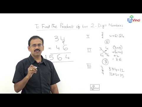 Fast Math Techniques - To find the product of two 2-digit numbers.