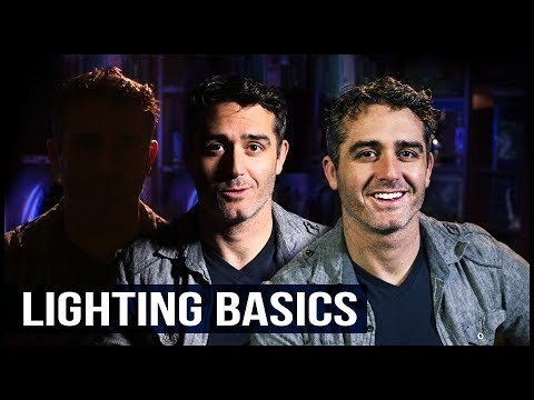 LIGHTING BASICS: The 3-Light Setup
