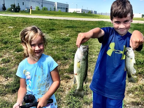 Memorial Day KIDS FISHING Challenge!