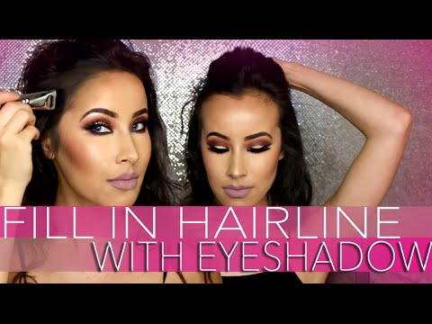HOW TO MAKE YOUR HAIR LOOK FULLER WITH EYESHADOW | LADYCODE TUTORIAL