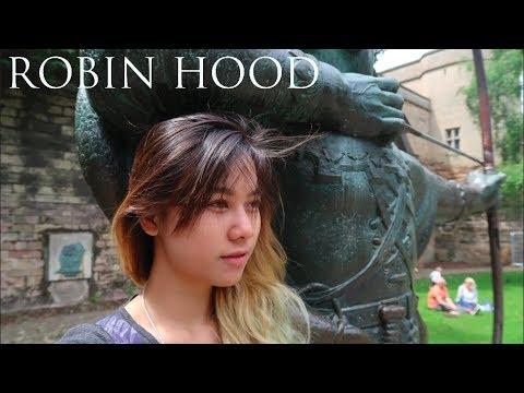 ROBIN HOOD GANTENG GA SIH? | NOTTINGHAM, UK #ITSDEELIFE | TRAVEL VLOG INDONESIA