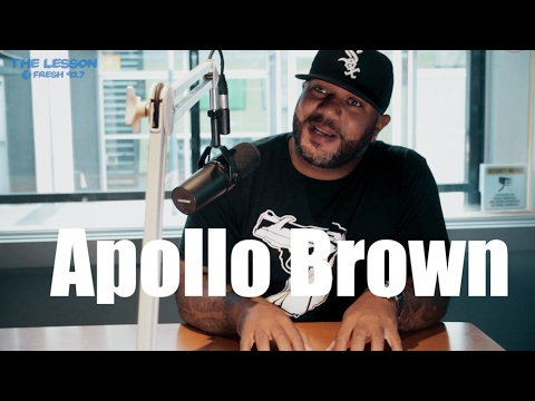 """Apollo Brown: """"I started making beats when I was 16 in high school"""""""
