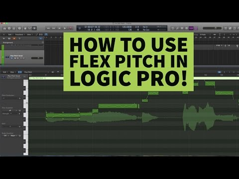 How to Use Flex Pitch in Logic Pro X | Tutorial