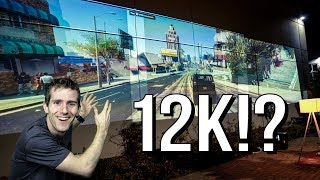 """12K"" Triple Projector Gaming Setup!"