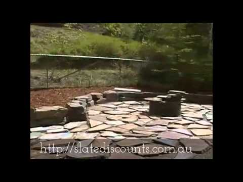 How to lay crazy paving flagstone (part 2 of 2)