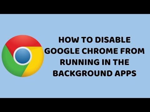 How to Disable Google Chrome from Running in the Background Apps | Tutorials in Hindi